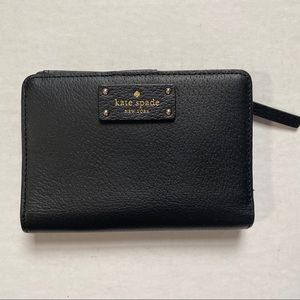 Kate Spade Black Grove Street Tellie Wallet